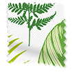 Wave Tropical Leaves Moss swatch image