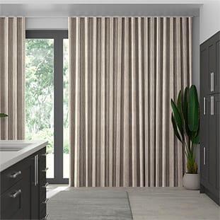 Wave Truro Stripe Linen Sandstone thumbnail image