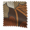 Wave William Morris Acanthus Velvet Chestnut Curtains slat image
