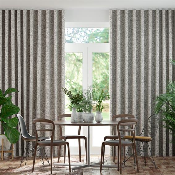Wave William Morris Acorn Dove Curtains