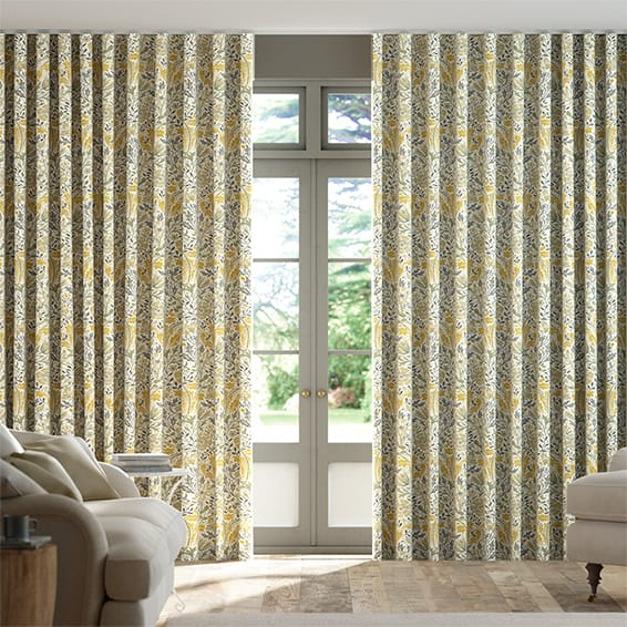 Wave William Morris Compton Buttercup Curtains