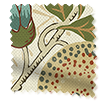 Wave William Morris Fruit Autumn Curtains sample image