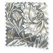 Wave William Morris Honeysuckle and Tulip Slate Wave Curtains swatch image
