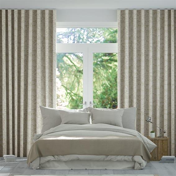 Wave William Morris Sunflower Linen Curtains