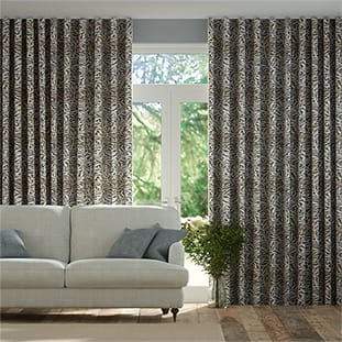 Wave William Morris Willow Bough Mocha Wave Curtains thumbnail image