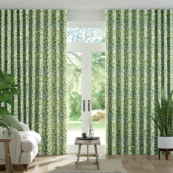Wave William Morris Willow Bough Vine Curtains