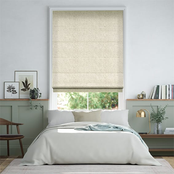 Waycroft Cream Roman Blind