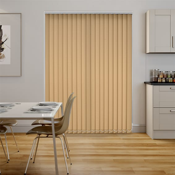 Welwyn Biscuit Vertical Blind
