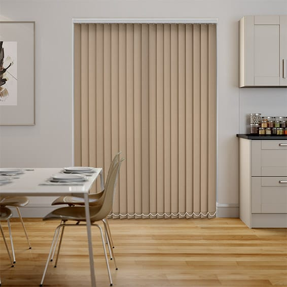 Welwyn Wheat Vertical Blind