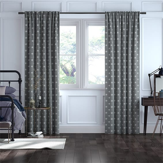 Westpoint Charcoal Curtains