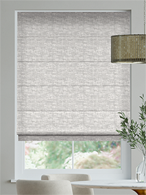Whinfell Silver Roman Blind thumbnail image