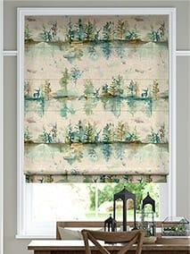 Wilderness Topaz Linen Roman Blind thumbnail image