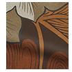 William Morris Acanthus Velvet Chestnut Roller Blind slat image