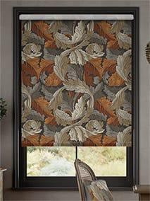 William Morris Acanthus Velvet Chestnut Roller Blind thumbnail image