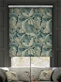William Morris Acanthus Velvet Forest Roller Blind thumbnail image
