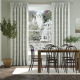 William Morris Honeysuckle and Tulip Natural Grey Curtains thumbnail image