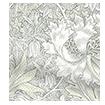 William Morris Honeysuckle and Tulip Natural Grey Curtains swatch image