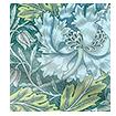 William Morris Honeysuckle and Tulip Velvet Moonstone swatch image