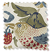 William Morris Strawberry Thief Natural Curtains swatch image