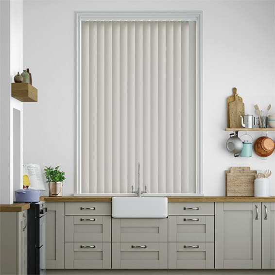 Williamsburg Pebble Grey Vertical Blind