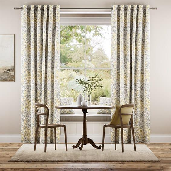 William Morris Willow Bough Gold Curtains