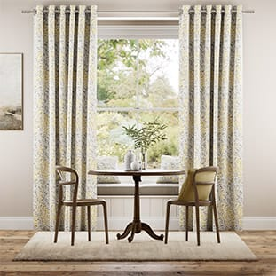 William Morris Willow Bough Gold Curtains thumbnail image