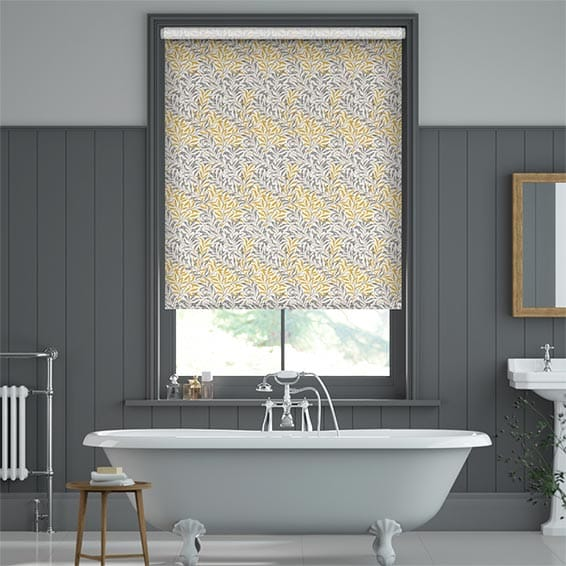 William Morris Willow Bough Gold Roller Blind