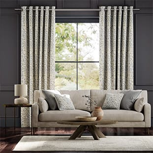 William Morris Willow Bough Mink Curtains thumbnail image
