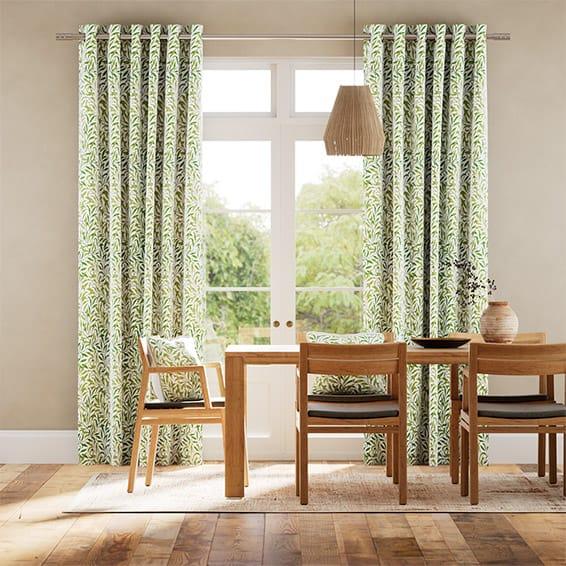 William Morris Willow Bough Vine Curtains