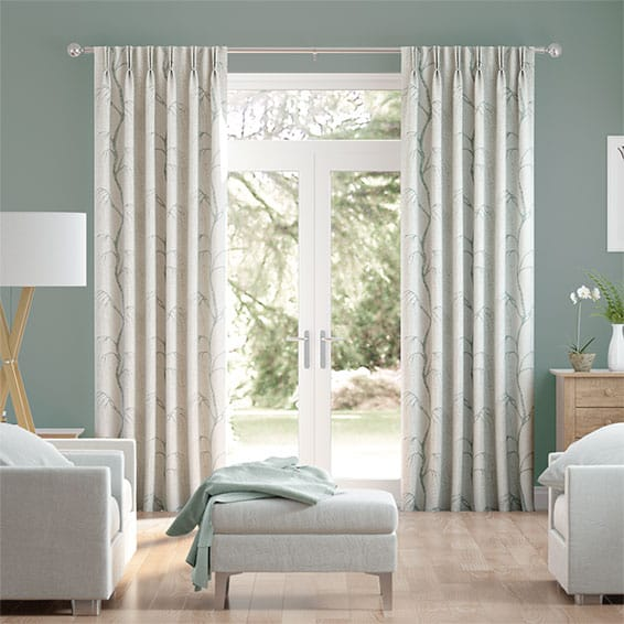 Willow Duck Egg Curtains
