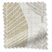 Winter Leaf Linen Hazelwood swatch image