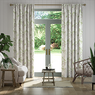 Wisteria Blossom Fern Curtains thumbnail image