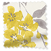 Wisteria Blossom Charcoal Curtains sample image