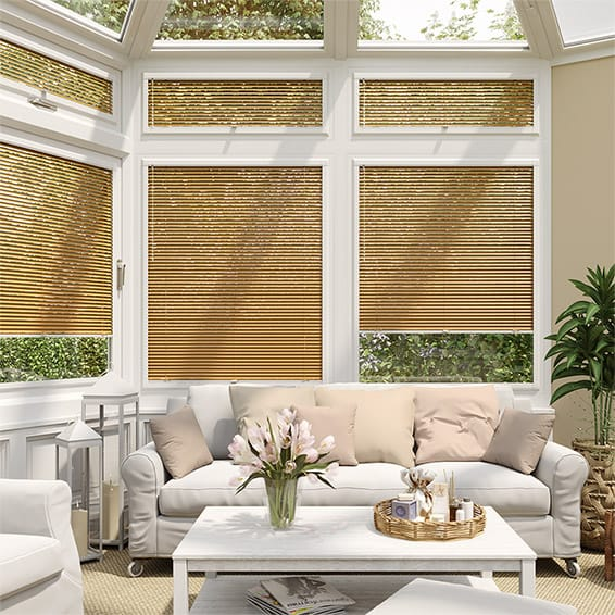 Woodgrain Honey Oak PerfectFIT Venetian Blind