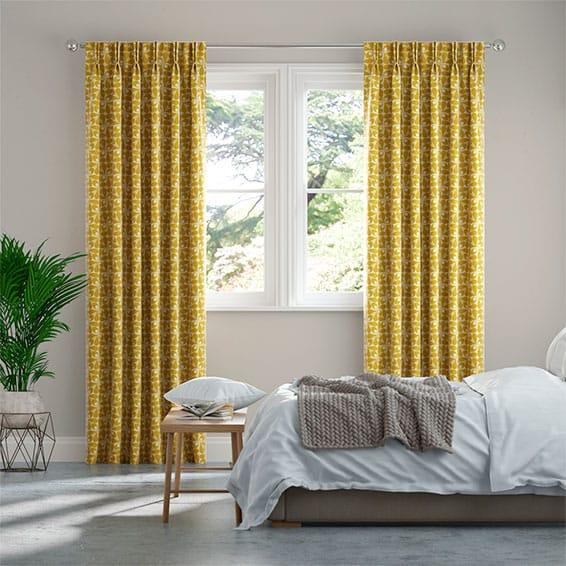 Woven Acorn Cup Dandelion Curtains