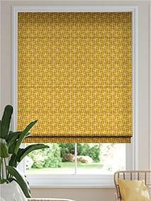 Woven Acorn Cup Dandelion Roman Blind thumbnail image
