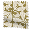 Woven Acorn Cup Moss Roman Blind swatch image