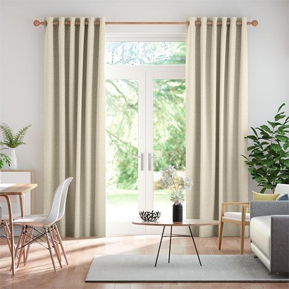 Zoroa Pale Neutral Curtains