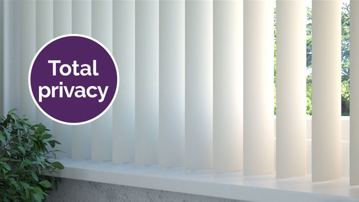 Blackout Slats for Total Privacy